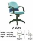 Kursi Direktur & Manager Indachi D-2003