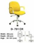 Kursi Direktur & Manager Indachi D-751 CR