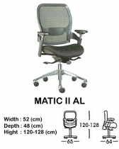 Kursi Direktur & Manager Indachi Matic II AL