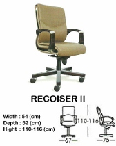 Kursi Direktur & Manager Indachi Recoiser II