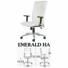 Kursi Direktur Modern Savello Emerald HA
