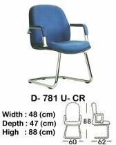 Kursi Hadap Indachi Type D-781 U-CR