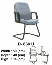 Kursi Hadap Indachi Type D-830 U