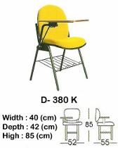 Kursi Kuliah Indachi Type D-380 K