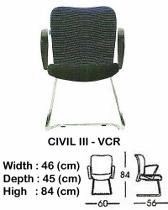 Kursi Hadap Indachi Civil III-VCR