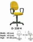 Kursi Staff & Sekretaris Indachi D-239 H