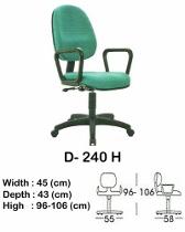 Kursi Staff & Sekretaris Indachi D-240 H