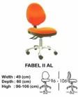 Kursi Staff & Sekretaris Indachi Fabel II AL