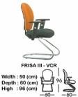 Kursi Hadap Indachi Type Frisa III-VCR