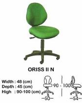 Kursi Staff & Sekretaris Indachi Oriss II N