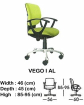 Kursi Staff & Sekretaris Indachi Vego I AL