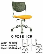 Kursi Staff & Sekretaris Indachi X-Pose II CR