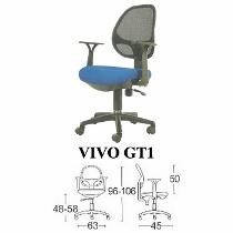 Kursi Staff & Sekretaris Savello Vivo GT1