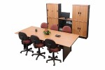 Meja Rapat Kotak 6 Orang