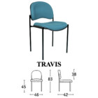 Kursi Susun Savello Type Travis