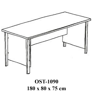 Meja Kantor Direktur Orbitrend Type OST-1090