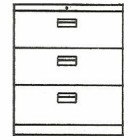 Multifile Cabinet System Alba MFC-1132