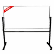 Papan Tulis (Whiteboard) Stand Double Face Sanko 120 x 240 cm