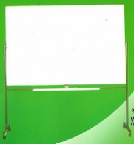 Papan Tulis (Whiteboard) Sakana Single Face (Stand) 90 x 120 cm