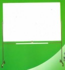 Papan Tulis (Whiteboard) Sakana Single Face (Stand) 60 x 120 cm