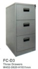 Filling Cabinet Tiger 3 Laci FC D3
