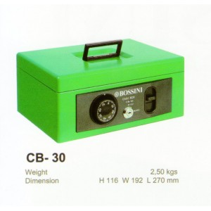 """Cash Box Bossini CB 30"""