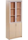 Lemari Arsip Donati Tinggi Pintu Panel Bawah + Pintu atas kaca frame type DOC-53 L