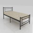Ranjang Besi Bunk Bed Orbitrend D-Square Single
